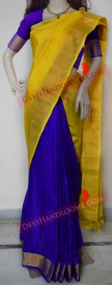 blue-with-yellow-uppada-silk-saree-front-view