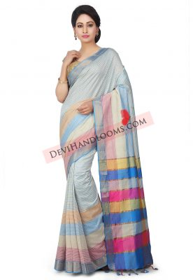 Handloom-Mangalgiri-Art-Silk-Saree-in-Off-White (3)