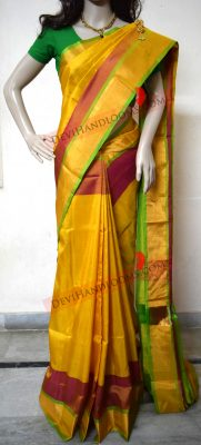 mustard-yellow-uppada-pure-silk-saree-front-view