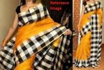 border checks uppada silk saree-1