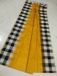 uppada border checks silk saree-3