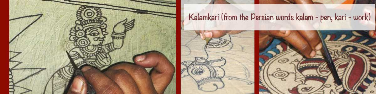 kalamkari Hand painted