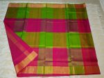 Big checks uppada silk sarees-2