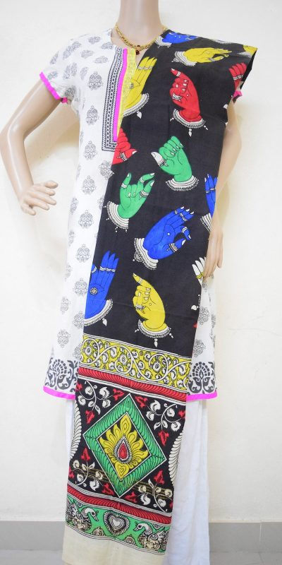 Kalamkari Kuchipudi Hand Gestures Design