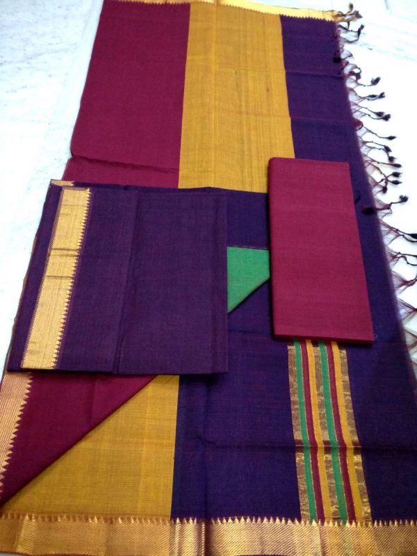 Mangalagiri Cotton Dress material 12
