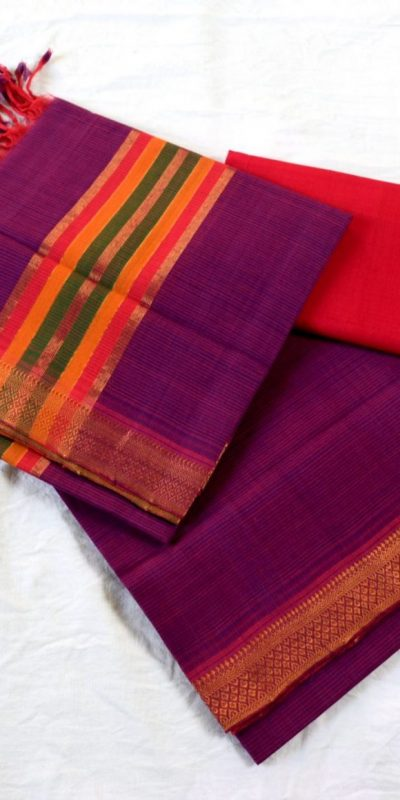 Mangalagiri Cotton Dress material6-6