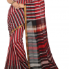 multicolor-mangalagiri-stripes-cotton-saree-front-view