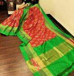 Pochampally-ikkath-silk-sar