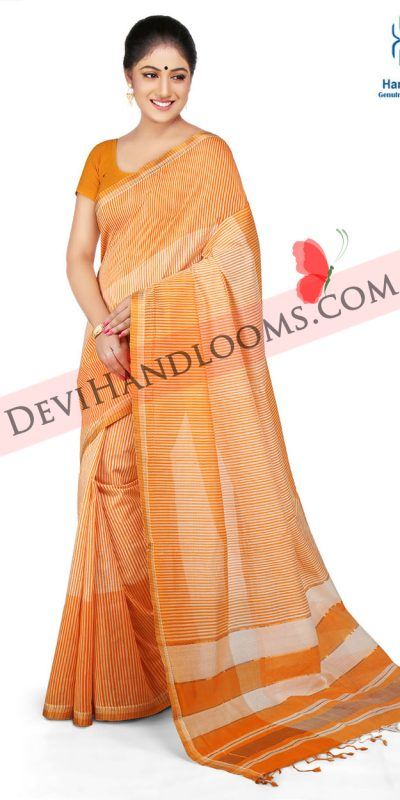 yellow-color-mangalagiri-party-saree-1