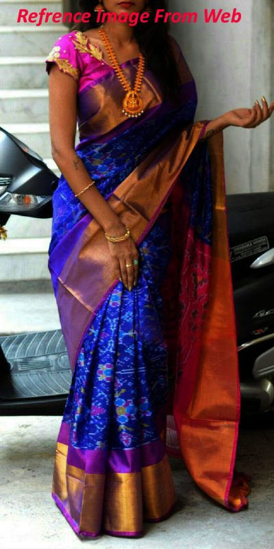 blue-color-uppada-silk-sare