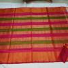 Uppada multi Color Horizontal lines silk saree-2