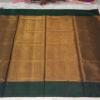 Uppada Black with Gold color full tissue Silk Saree