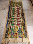 kalamkari hand painted mangalagiri Cotton dupatta-19