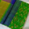 uppada-green-color-pochampally-saree1