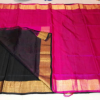 uppada half and half silk saree